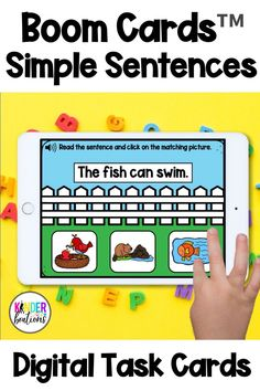 Engage your students and practice reading SIMPLE SENTENCES ( sight words, CVC words, digraphs, and blends ) with these April and spring themed digital task cards! Boom Cards are interactive, self-checking task cards that make learning fun! They are perfect for centers, independent work time, small group instruction, and distance learning. They can also be linked in Seesaw™ or your Google™ classroom! Audio directions are included on every slide.