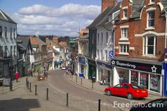 The quaint town of Ross on Wye, Herefordshire.