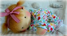 Baby Lisa, by LesPouPZ waldorf dolls, available next week