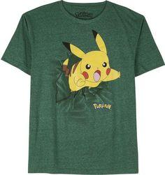 44838207 Pokemon Novelty T-Shirts Pikachu Pokmon Burst Graphic Tee Tween Boy  Fashion, Super Hero