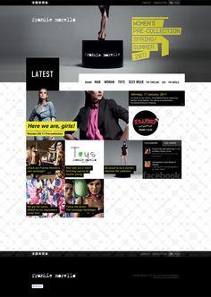 FRANKIE MORELLO // Il nuovo sito di Frankie Morello è stato pensato e disegnato per essere multipiattaforma e rispondere alle nuove esigenze del mobile: uno spazio per contenuti multimediali, quali video e immagini delle sfilate, ma soprattutto un contenitore polifunzionale e polimediale.
