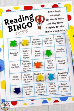 Celebrate Reading Month with this fun Reading Bingo! Reading Bingo, Reading Activities, Reading Strategies, Fun Activities, Reading Fluency, Kindergarten Reading, Preschool Kindergarten, Toddler Activities, Bingo For Kids