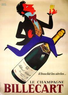 Vintage Advertising Posters   Billecart