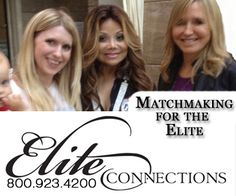 310 295 9584 Call Elite Connections Matchmaking in Los Angeles #MatchmakersLA #lamatchmakers http://www.eliteconnections.com/los-angeles-matchmakers/