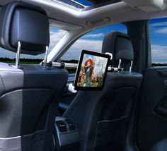 Let your backseat ride in the car be one full of entertainment by installing the iVAPO New Edition iPad Headrest Mount.