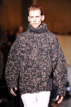 """ | Dries van Noten |"" Chunky Knitwear, Tweed, Men Sweater, Van, Knitting, Sweaters, Fashion, Tricot, Fotografia"
