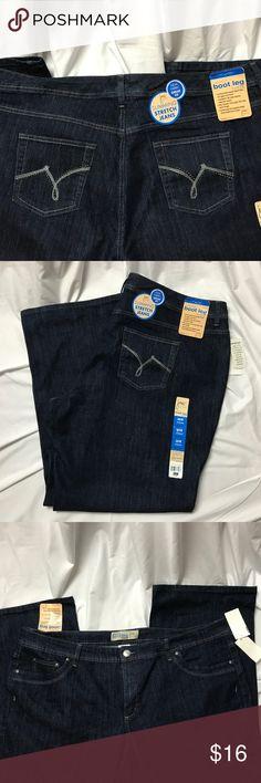 e5d12b08a9 💙JMS Just My Size Boot Leg Stretch Jeans 26W💙 JMS Just My Size Boot
