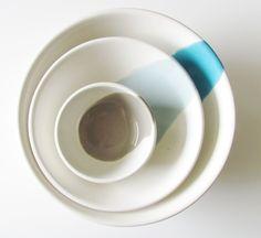 Schüsseln & Schalen - Schalen aus Ton - ein Designerstück von art4life bei DaWanda