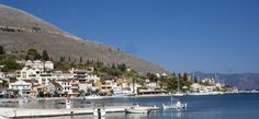 Beach Front House - Houses for Rent in Agia Effimia, Peloponnisos Dytiki Ellada ke Ionio, Greece Seaside Village, Greece Travel, Greek Islands, House Front, Detached House, Renting A House, Dolores Park, Most Beautiful, Coastal