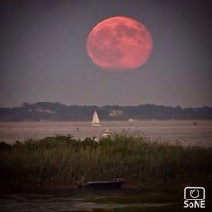 Connecticut Pic of the Day 08.01.15  Photographer @wenovpi  Congratulations!  #averypoint #grotonCT #bluemoon #fullmoon #onceuponabluemoon @universetoday #universetoday  #connecticut #scenesofCT  #ig_captures #artofvisuals #ctvisit #coastalconnecticut  #ig_connecticut  #beautifulconnecticut  #connecticutgram