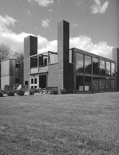 louis kahn - korman house, fort washington, pennsylvania, usa, 1971-73