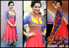 Kangana Ranaut promoting her upcoming Film 'Queen' at 'India's Got Talent'