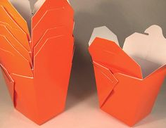 Orange Chinese Take-out (Favor) Boxes - 100 Count Halloween Wedding Favors, Catering Halls, Take Out, Favor Boxes, Party Supplies, Orange, Handmade, Kitchens, Chinese