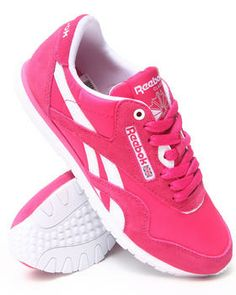 Reebok | Cl Nylon Slim Sneakers. Get it at DrJays.com
