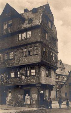 Frankfurt Roseneck, postcard 1928