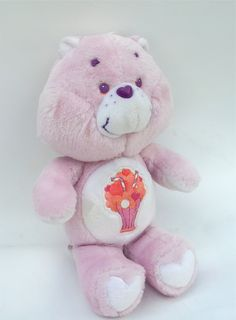 Vintage 1985 Share Care Bear Plush by RetroClassics on Etsy, $17.99
