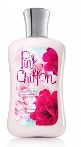Body Lotion - Pink Chiffon de Bath & Body Works