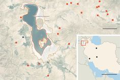 President Hassan Rouhani has identified water as a national security issue, and nowhere is the crisis more pronounced than at Lake Urmia, once one of the largest salt lakes in the world.