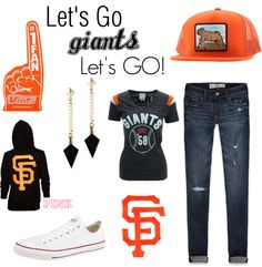 """San Francisco Giants Game/ Bachlorette Party"" by pepperexpress on Polyvore"