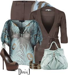 """Office Look"" by dimij on Polyvore } This is good enough for me to tell myself, ""Need some new clothes for work."" :)"
