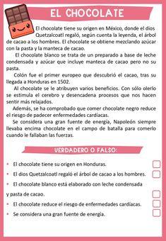 10 TEXTOS CON CURIOSIDADES PARA TRABAJAR LA COMPRENSIÓN LECTORA Spanish Interactive Notebook, Interactive Notebooks, Spanish Lessons For Kids, Spanish Class, Spanish Worksheets, Wh Questions, English Activities, Spanish Language Learning, Reading Comprehension
