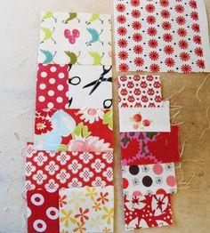 Pinkadot Quilts: Another Way To Make a Mug Rug