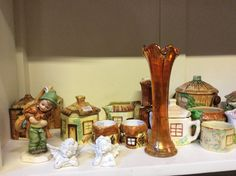 Carnival glass @ Barn! Sunday Special, Carnival Glass, Snow Globes, Lime, Barn, Home Decor, Limes, Converted Barn, Decoration Home