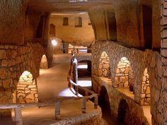 شهر زیرزمینی کاریز کیش | مکانبین استان هرمزگان  Underground city in Kish Island - Iran
