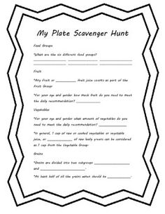 This product is a short scavenger hunt with students can use to learn about the six essential nutrients needed to maintain a healthy diet. The information comes directly from the MyPlate.gov website.