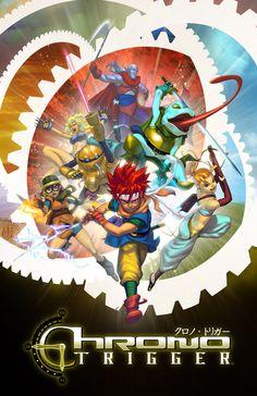 Using Stumble Upon, I've come across tons of video game art. Video Game Posters, Video Game Art, Video Games, Chrono Trigger, Geeky Wallpaper, Dragon Ball, Chrono Cross, Pokemon, Game Concept Art