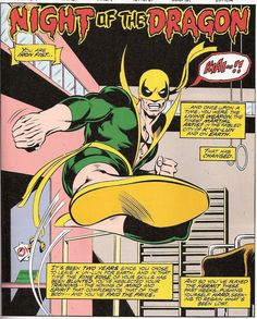 Iron Fist by John Byrne (Marvel)
