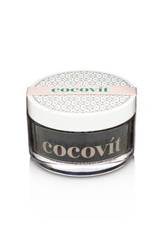 This Cocovitmask with coconut oil and activated charcoal is a cure-all for your face.