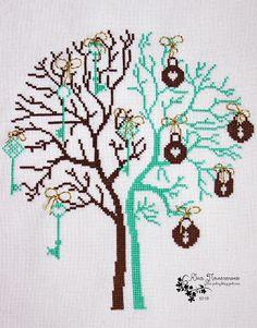 Блог мечтательницы: Дерево с ключами