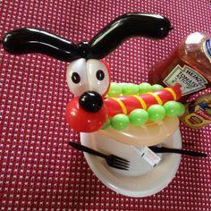 Hotdog Twist Balloon