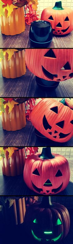 Easy DIY Halloween Decor: In just a few simple steps you'll have cute glowing pumpkins that are safe around kids and will make any room more Halloween-y. Plus, it's a speaker so you can play classic Halloween songs all night long. 1. Pair your ISB35B speaker to your BT device. 2. Turn on the Lights button to desired color or let it randomize. 3. Place the speaker inside or beneath your pumpkin 4. Play your music and enjoy awesome music all night long!