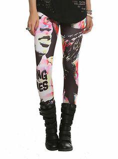 The Rolling Stones Pop Leggings 2XL | Hot Topic