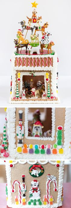 Gingerbread Doghouse & Other Gingerbread House Ideas!