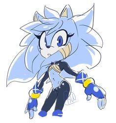 Fi by kuupan Sonic Fan Characters, Black Anime Characters, Character Concept, Character Art, Character Design, Hedgehog Art, Sonic The Hedgehog, Shadow Sonic, Sonic Franchise