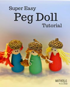how to make peg dolls