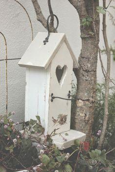 cottage birdhouse ♥
