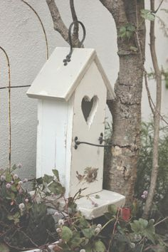 cottage birdhouse ♥
