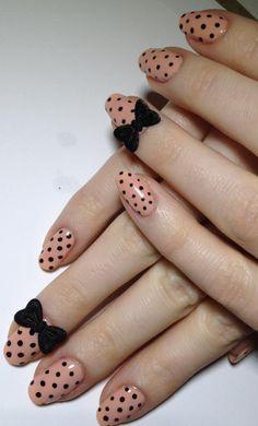 ::dot and bow nails