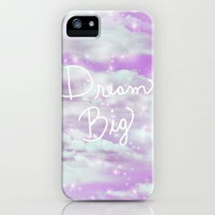 Dream Big - Lavender  iPhone & iPod Case by Lisa Argyropoulos - $35.00