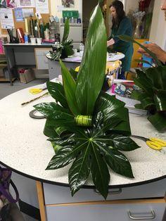 Contemporary Flower Arrangements, Tropical Flower Arrangements, Church Flower Arrangements, Beautiful Flower Arrangements, Tropical Flowers, Beautiful Flowers, Cactus Flower, Exotic Flowers, Purple Flowers