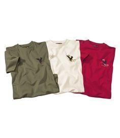 Lot De 3 Tee Shirts Confort : http://www.atlasformen.fr/products/special-randonnee/lot-de-3-tee-shirts-confort/10214.aspx #atlasformen