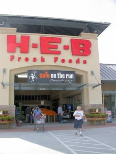 H.E.B.  I love and miss you.  I wish they were everywhere! Started in Kerrville, Texas by Butts family.