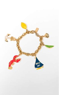 Summer Classic Charm Bracelet   33237   Lilly Pulitzer