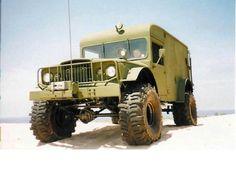 Lifted Jeep Ambulance