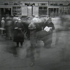 Alexey Titarenko :: Untitled (Three Women Selling Cigarettes), 1992  / more [+] by this photographer