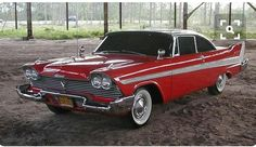"'57 Plymouth Fury. from the 1983 horror/thrille tv movie ""Christine"""